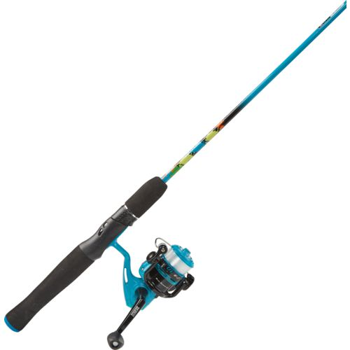 Zebco Kids' Splash Jr 4 ft ML Freshwater Spinning Rod and Reel Combo