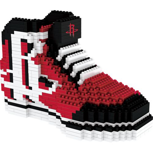 Forever Collectibles Houston Rockets BRXLZ 3-D Sneaker Puzzle