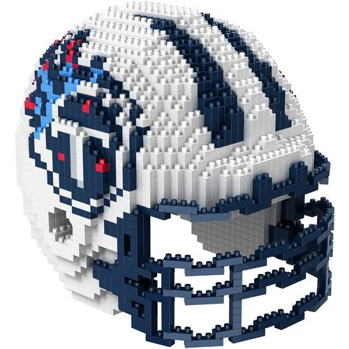 Forever Collectibles Tennessee Titans 3-D BRXLZ Helmet Puzzle