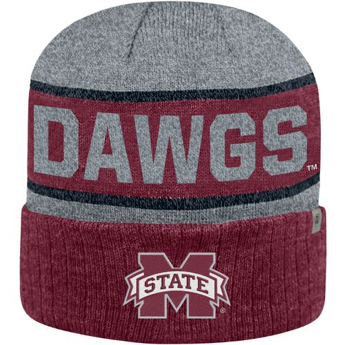 Top of the World Men's Mississippi State University Below Zero Cuff Knit Hat