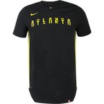 Nike Men's Atlanta Hawks EXP Dry City Edition T-shirt - view number 3