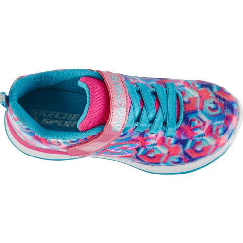SKECHERS Girls' Jumpin' Jams Training Shoes - view number 5