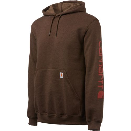 Display product reviews for Carhartt Men's Midweight Signature Sleeve Logo Hooded Sweatshirt