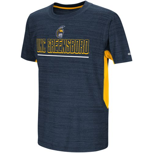 Colosseum Athletics Kids' University of North Carolina at Greensboro Over The Fence T-shirt