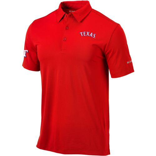 Columbia Sportswear Men's Texas Rangers Drive Golf Polo Shirt
