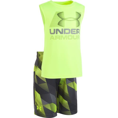 Under Armour Toddler Boys' Electric Fields Tank/Shorts Set