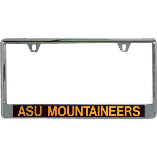 Stockdale Appalachian State University Mirrored Metal License Frame