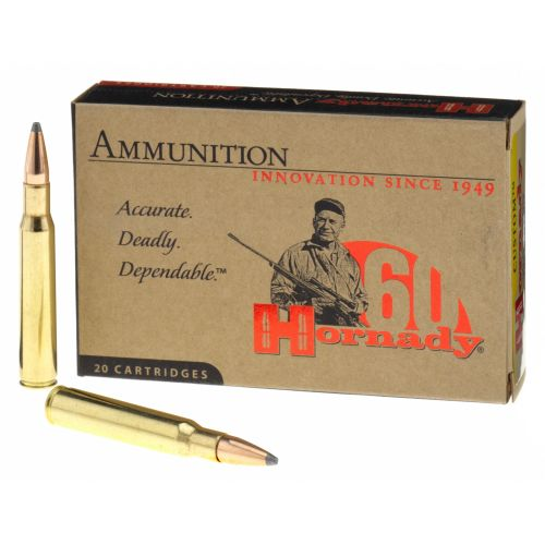 Hornady Interlock® BTSP .30-06 Springfield 165-Grain Rifle Ammunition