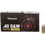 Monarch® TMJ .40 Smith & Wesson 180-Grain Pistol Ammunition