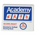 Score-Right 16-Position Baseball and Softball Scorebook