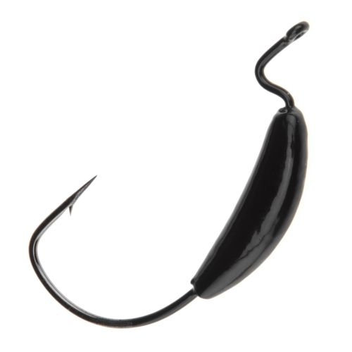Big Bite Baits Pro Series 5/0 Gamakatsu Weighted Single Hooks 4-Pack