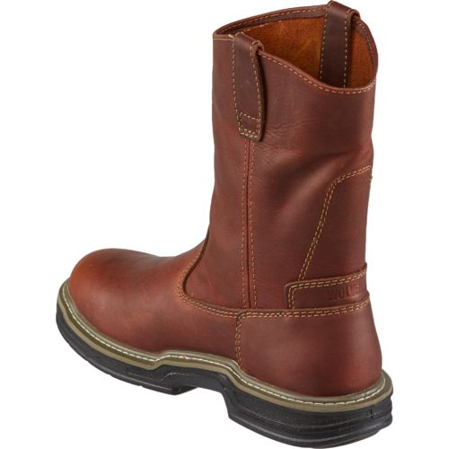 Wolverine Men's Raider MultiShox Contour Welt Wellington Work Boots - view number 3