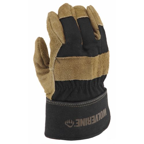 Wolverine Men's  Split Leather Palm  Work Gloves