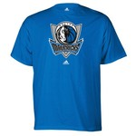 adidas Men's Dallas Mavericks Full Primary Logo T-shirt