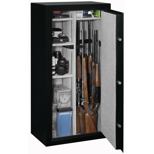 stack-on fully convertible 22-gun safe with electronic lock | academy