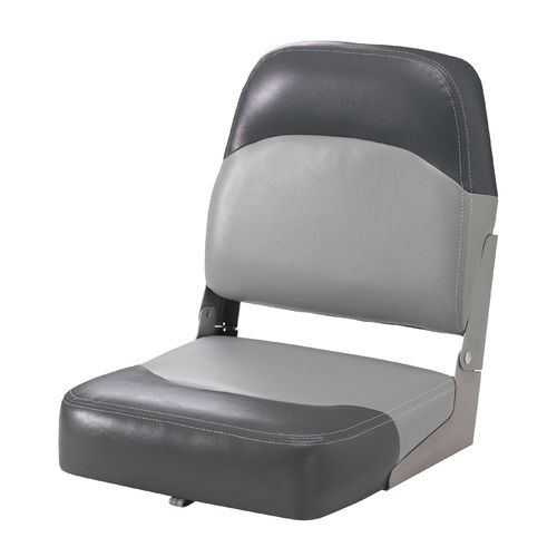 Marine Raider Silver Series Low-Back Boat Seat