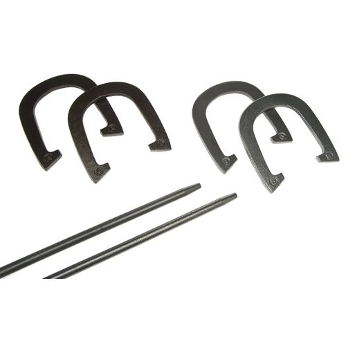 Superior Metal Horseshoe Set