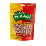 Dingo Twist Sticks Dog Treats 50-Count