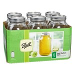 Ball® 64 oz. Wide-Mouth Jars with Lids and Bands