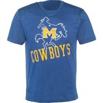 Colosseum Athletics Men's McNeese State University Ace Crew Neck T-shirt