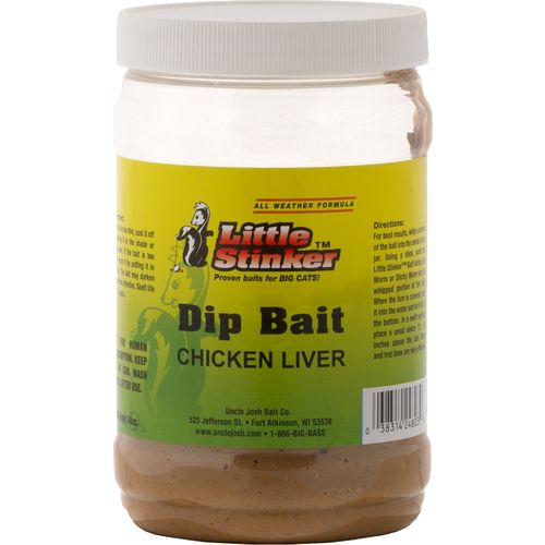 Little stinker 16 oz chicken liver dip baits academy for Fishing with chicken liver