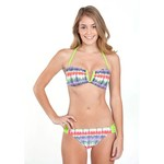 O'Rageous® Juniors' Ethnic Beat Bandeau Swim Top