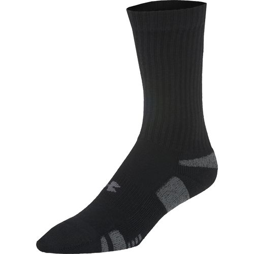 Under Armour  Adults  HeatGear  Crew Socks 3-Pack