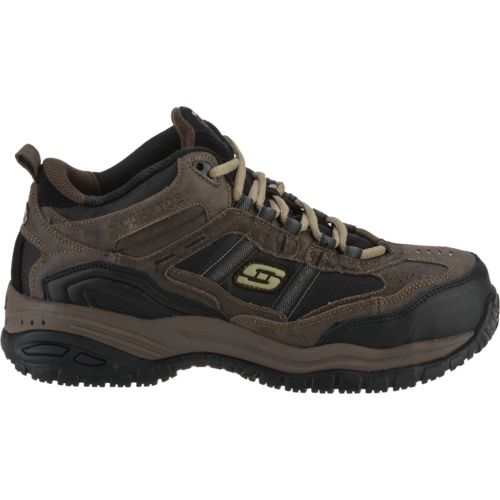 SKECHERS Menu0026#39;s Soft Stride Canopy Work Shoes | Academy