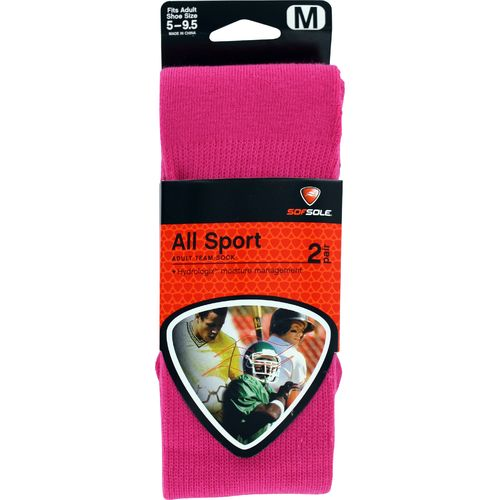 Sof Sole® Men's BCA All Sport Team Socks 2-Pack