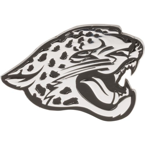 Display product reviews for Stockdale Jacksonville Jaguars Chrome Metal Freeform Auto Emblem