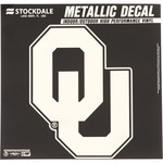 Stockdale University of Oklahoma Metallic Decal