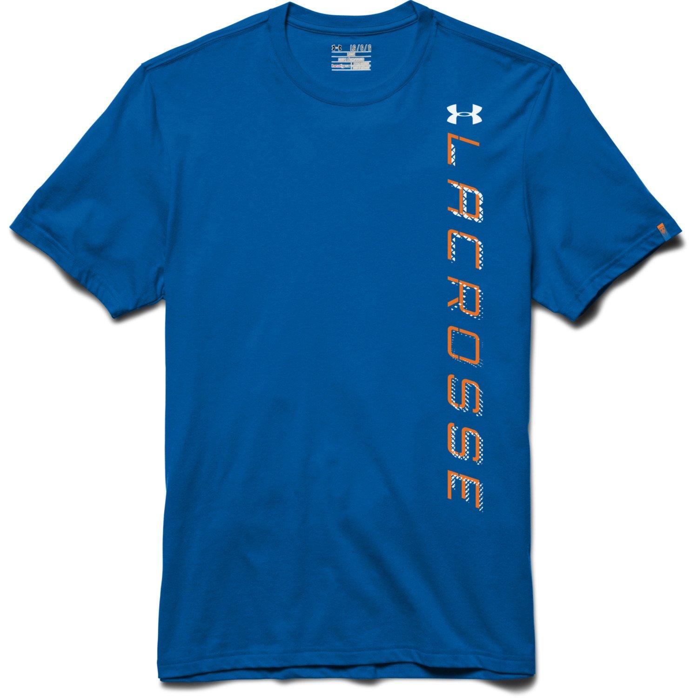 Under Armour Men 39 S Lacrosse Wordmark T Shirt Academy