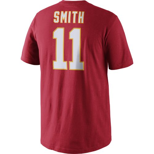 Nike Men's Kansas City Chiefs Alex Smith 11 Player Pride T-shirt