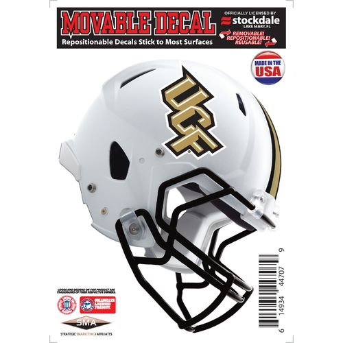 Stockdale University of Central Florida Repositionable Vinyl Helmet Decal