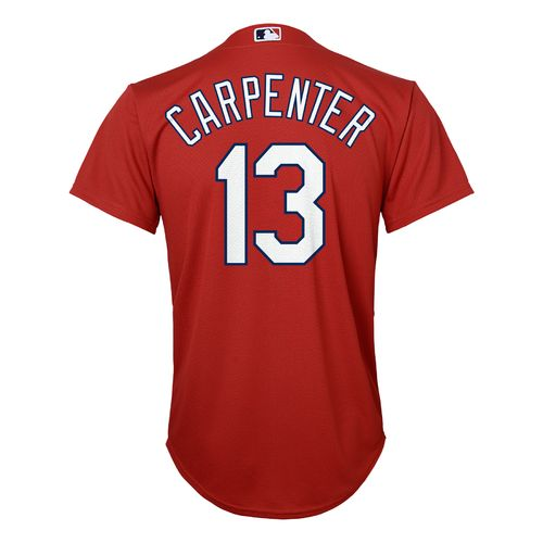 MLB Boys' St. Louis Cardinals Matt Carpenter #13 Cool Base Alternate Replica Jersey