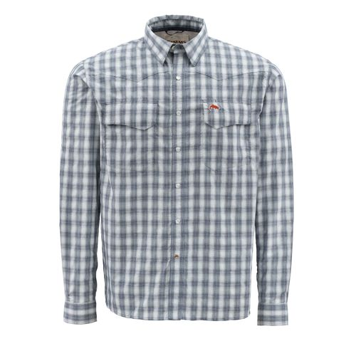 Simms® Men's Off-Water Big Sky Long Sleeve Plaid