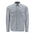 Simms® Men's Off-Water Big Sky Long Sleeve Plaid Shirt
