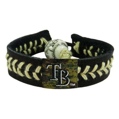 GameWear Adults' Tampa Bay Rays Camo Baseball Bracelet