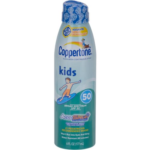 Coppertone® Kids' 6 oz. C Spray SPF 50 Sunscreen