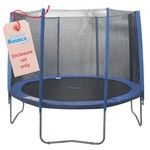 Upper Bounce® 10' Enclosure Set for Trampolines with 4 or 8 W-Shaped Legs - view number 1