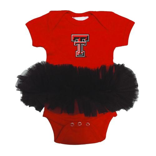 Two Feet Ahead Infants' Texas Tech University Tutu Creeper