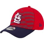 New Era Men's St. Louis Cardinals 2015 Stars and Stripes 4th of July 39THIRTY Cap