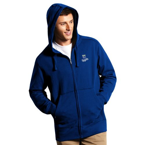 Antigua Men's Kansas City Royals Signature Full Zip Hoodie - view number 1
