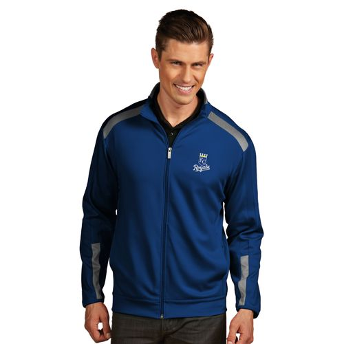 Antigua Men's Kansas City Royals Flight Jacket