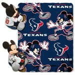 The Northwest Company Houston Texans Mickey Mouse Hugger and Fleece Throw Set - view number 1