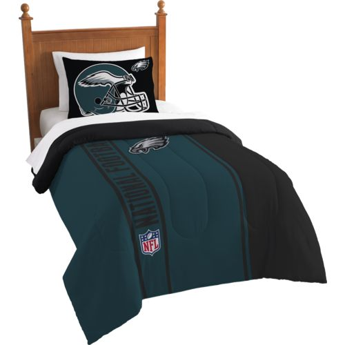 The Northwest Company Philadelphia Eagles Twin Comforter and Sham Set