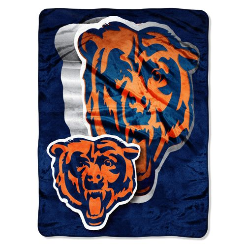The Northwest Company Chicago Bears Bevel Micro Raschel