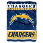 The Northwest Company San Diego Chargers 12th Man Raschel Throw - view number 1