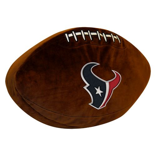 The Northwest Company Houston Texans Football Shaped Plush Pillow