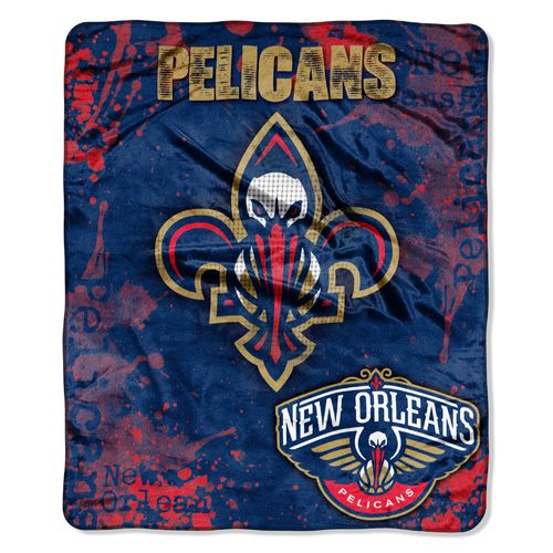 The Northwest Company New Orleans Pelicans Dropdown Raschel Throw - view number 1